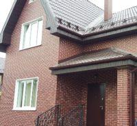 фасад из плитки Ceramika paradiz cloud brown duro