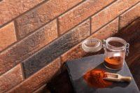 интерьер с плиткой loft-brick-chili