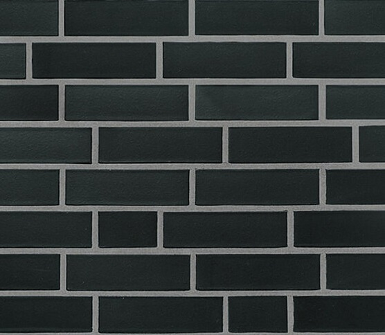 плитка для фасада faro_schwarz_nuanciert_glatt