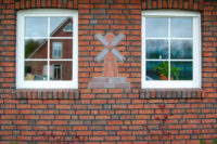 фасад из плитки Roben wasserstrich buntgeflamt