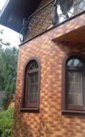 фасад с плиткой aquarius-brown