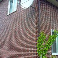 фасад облицованный semir brown
