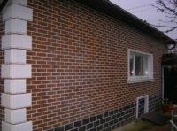 фасад из плитки semir brown