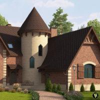 фасад: клинкерная плитка King klinker №07