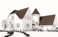 дизайн и 3D визуализация фасадов