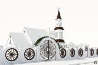 дизайн фасадаи 3D визуализация
