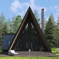 Дизайн и 3D визуализация фасада дома