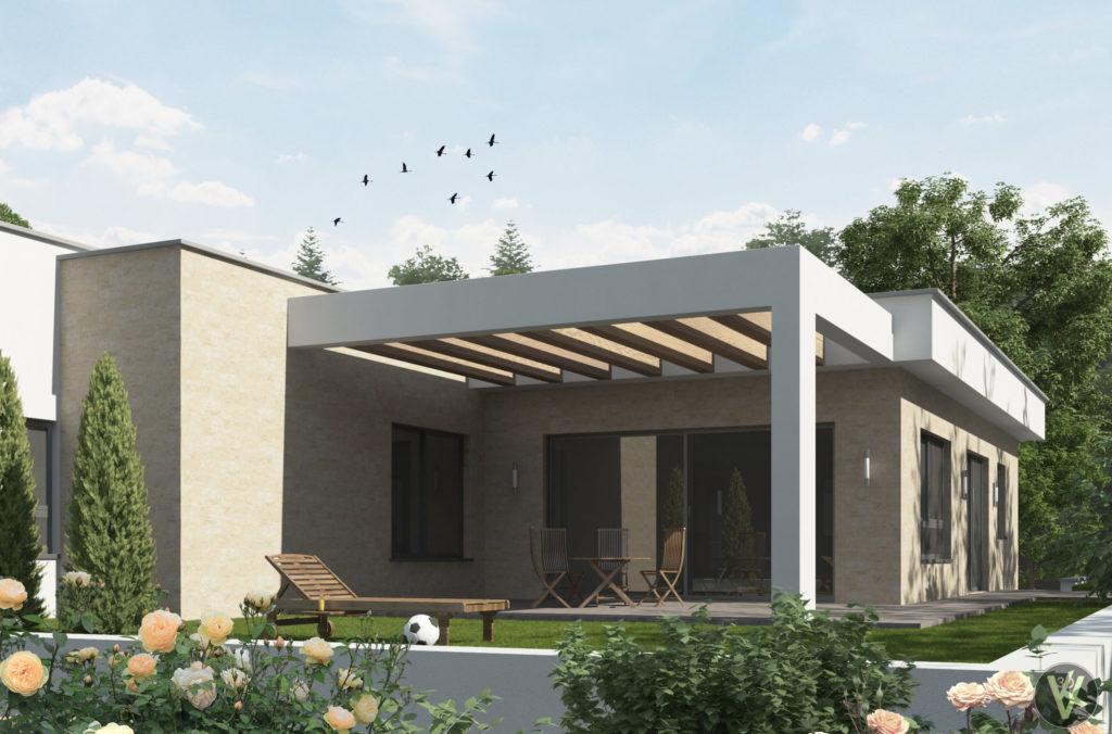 3D визуализация фасадов