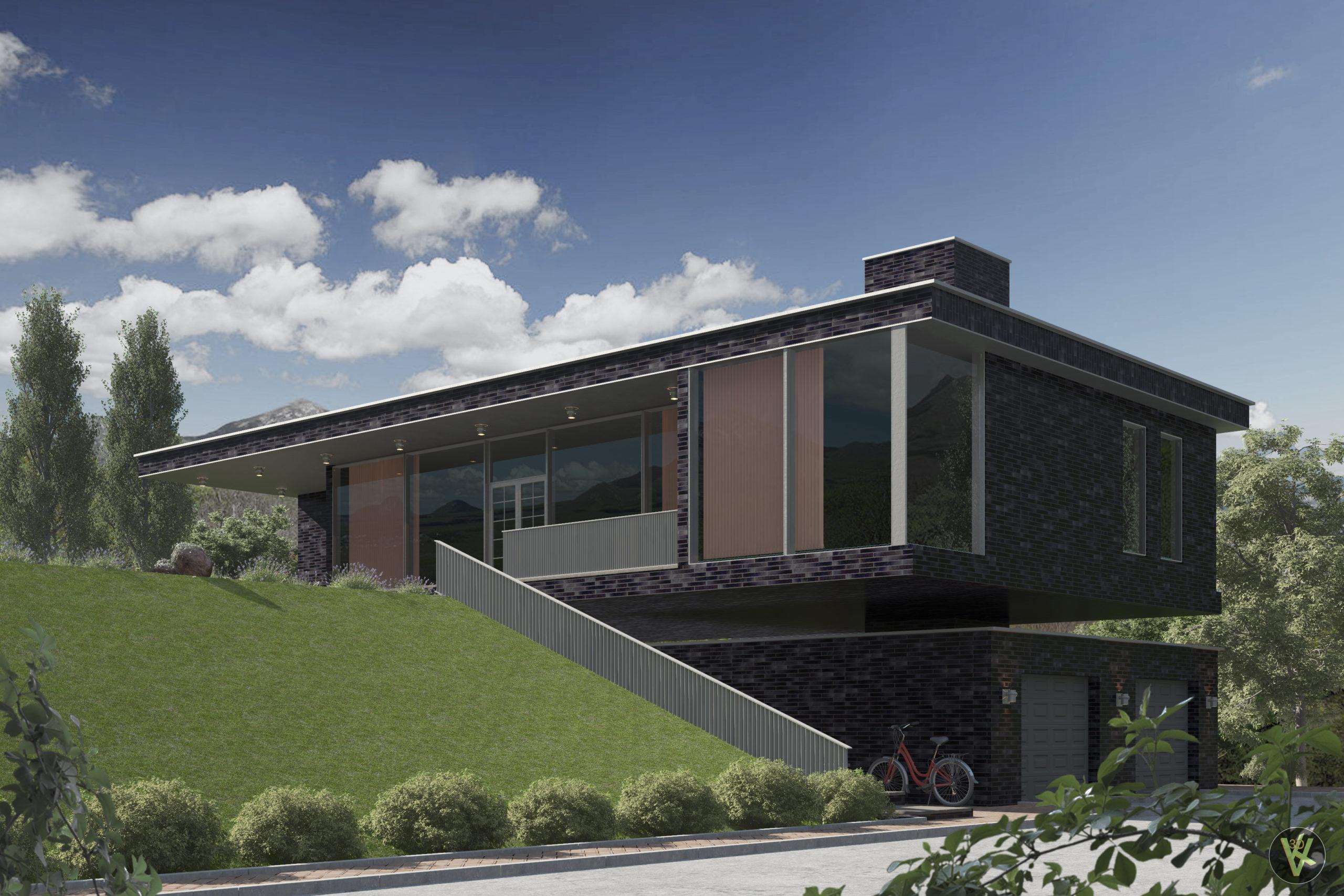 Архитектурная визуализация фасадов